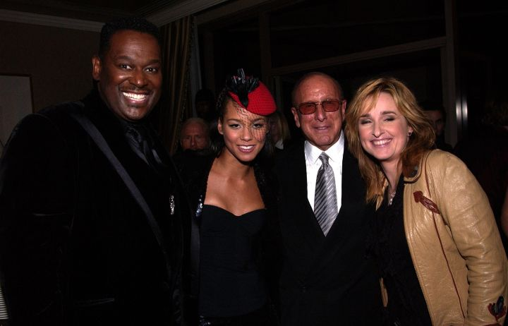 Clive Davis Celebrates In Style As J Records' Alicia Keys & Luther Vandross Take Home American Music Awards