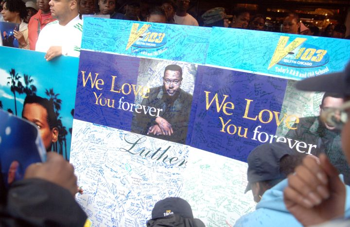 Luther Vandross Funeral Service - July 8, 2005