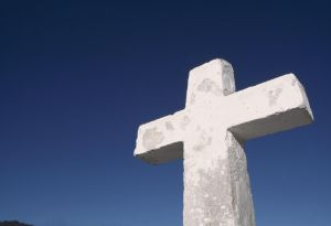 Cross and Clear Sky