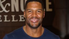 Michael Strahan Book Signing For 'Wake Up Happy: The Dream Big, Win Big Guide To Transforming Your Life'