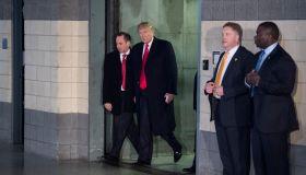 Republican presidential-elect Donald Trump USA Thank You Tour 2016
