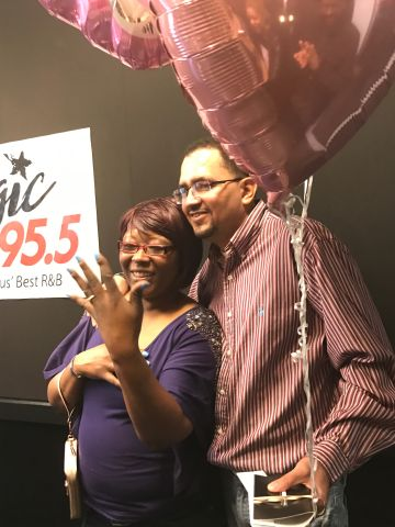 Magic 95.5 Surprise Proposal