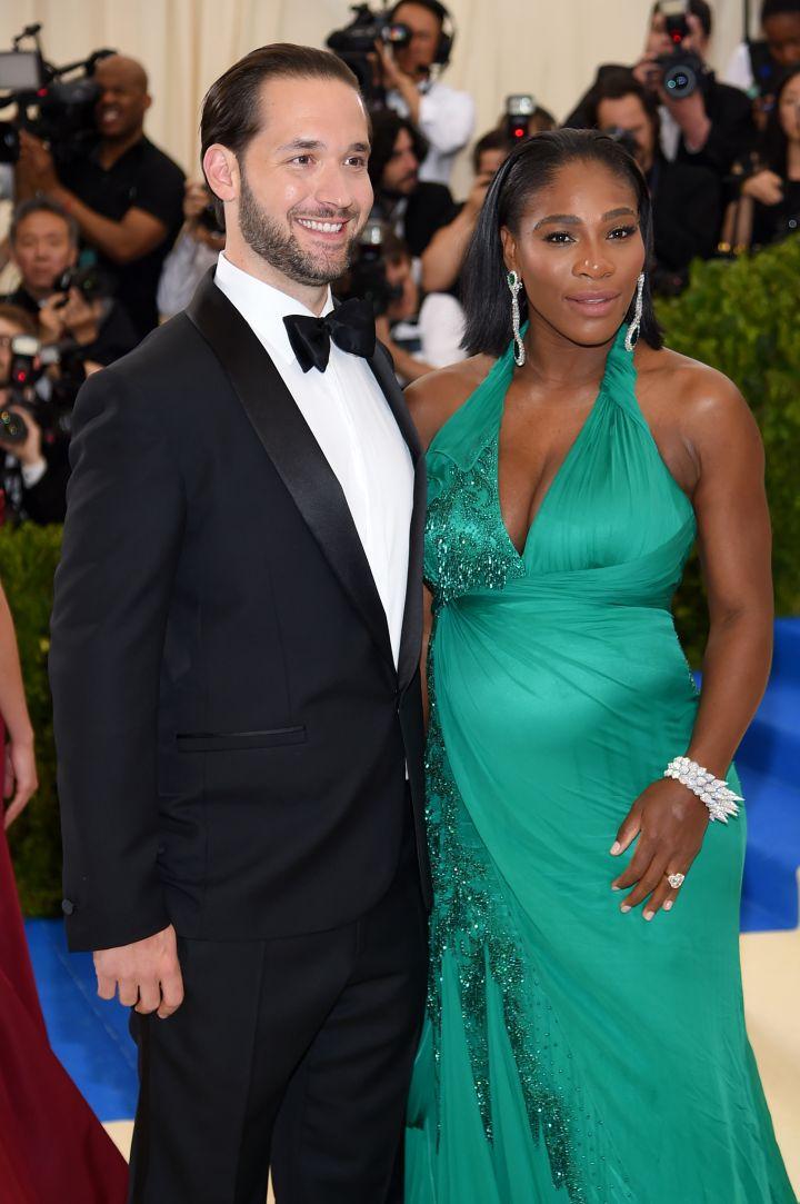 Alexis Ohanian & Serena Williams