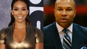 Gloria Govan & Derek Fisher