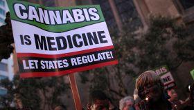 Activists Ptotest Crackdown On Medical Marijuana In San Francisco