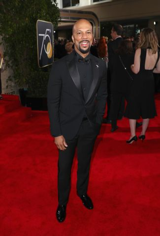 Moet & Chandon At The 75th Annual Golden Globe Awards - Red Carpet