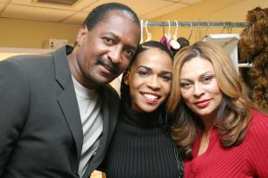 Michelle T. Williams of Destiny's Child Backstage After Her First Broadway Performance in 'Aida'