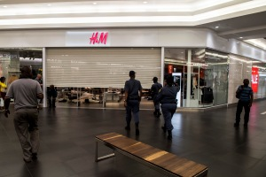 EFF supporters vandalise various H&M stores in South Africa