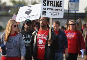 Chicago Teacher's Strike Enters Second Week