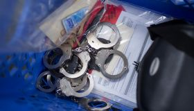LAPD Handcuffs & Materials In Southeast