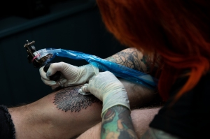 Now TV Game of Thrones pop-up tattoo studio