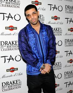 Drake Celebrates His 25th Birthday At TAO With Martini Moscato d'Asti