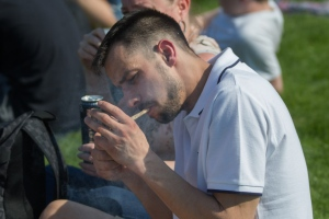 Annual London 420 Pro Cannabis Rally at Hyde Park
