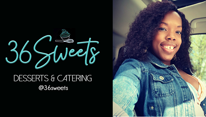 Chef Tamieka L. Cobb 36Sweets Desserts & Catering