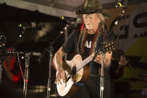 Willie Nelson performs at Ray Benson's Birthday Bash