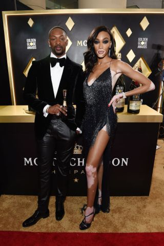Moët And Chandon At The 77th Annual Golden Globe Awards - Red Carpet