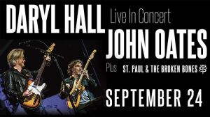 2017 Hall and Oates Concert