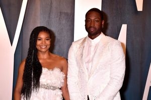 Gabrielle Union, Dwayne Wade at the 2020 Vanity Fair Oscar Party at Wallis Annenberg Center for the Performing Arts