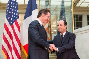 Reception in Honor of French President Francois Hollande