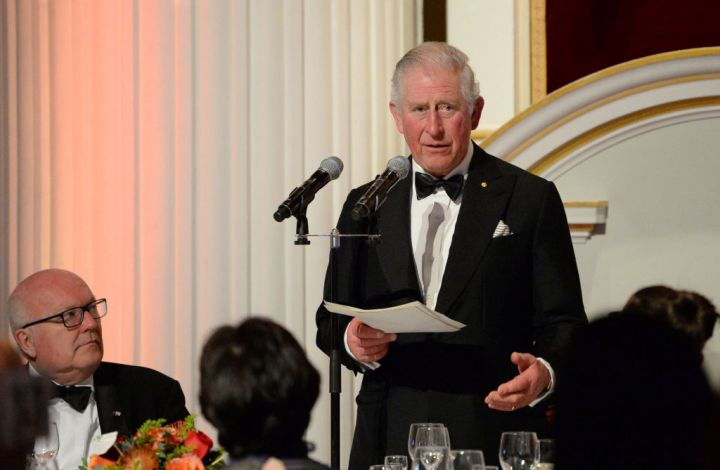 The Prince Of Wales Attends A Dinner In Aid Of The Australian Bushfire Relief And Recovery Effort