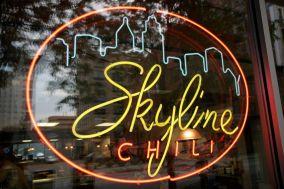 Skyline Chili neon sign.