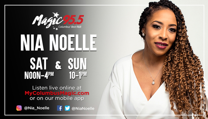 Nia Noelle Show Graphic for WXMG