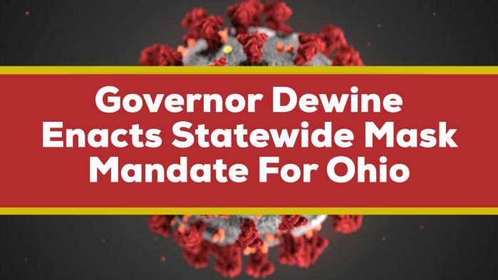 COVID Mask Mandate Ohio