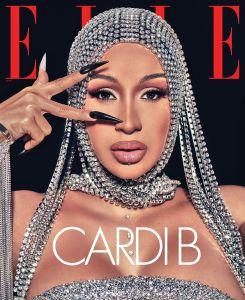 Cardi B Elle September 2020 cover