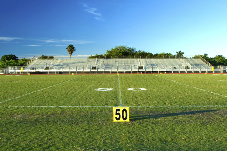 High School Football Field
