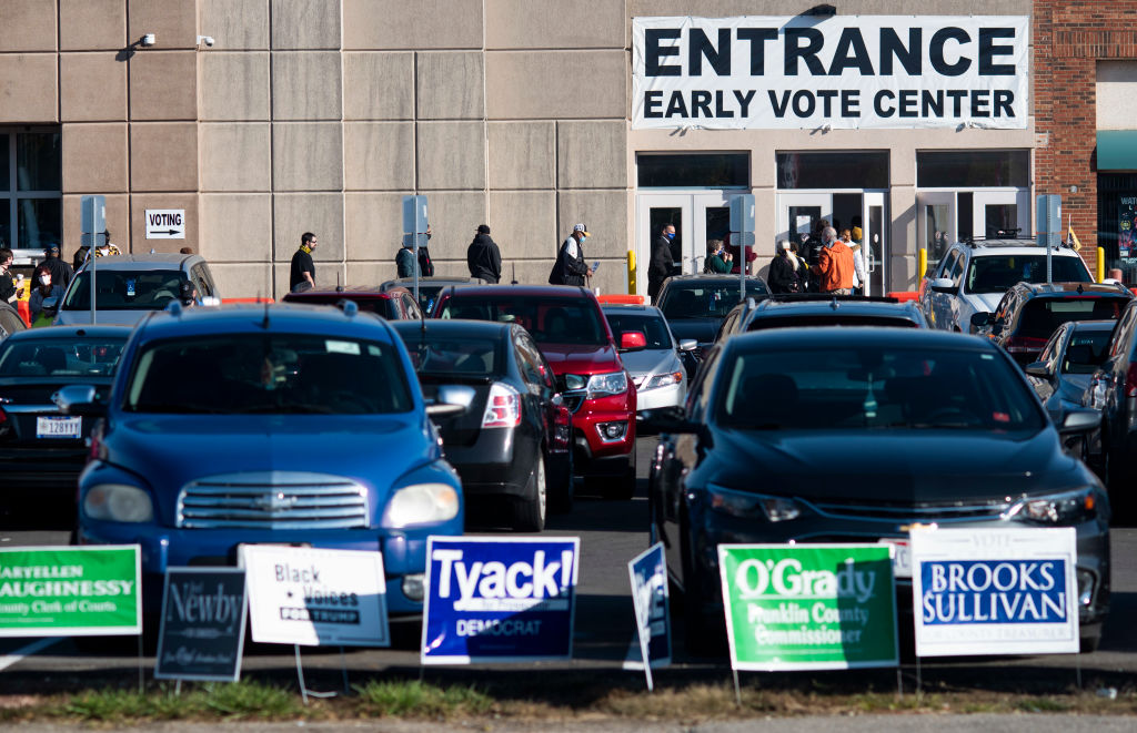 Early Voting Begins In Ohio