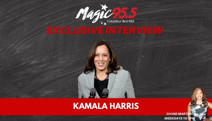 Kamala Harris Interview with Divine Martino