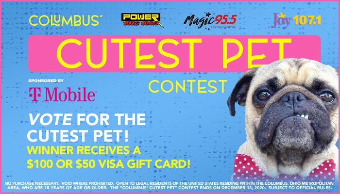 Columbus' Cutest Pet - Vote