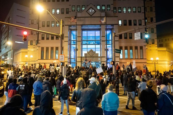 Casey Goodson Protest in Columbus Ohio