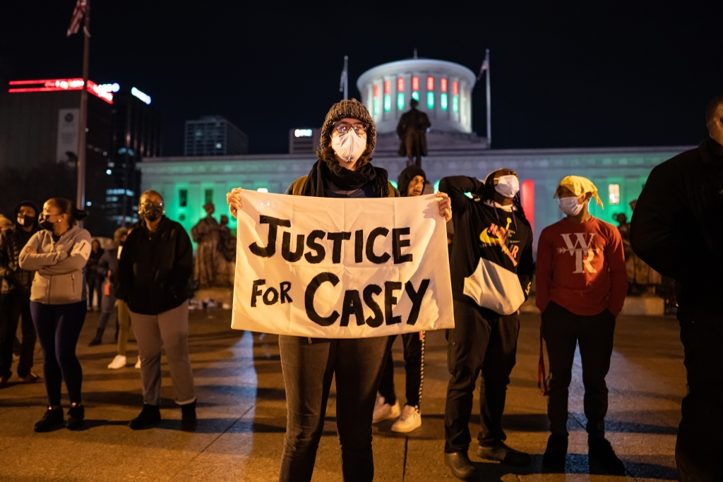 Casey Goodson Protest in Columbus Ohio