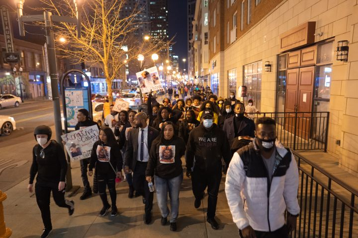 19 Powerful Pictures from the Casey Goodson Protest in Columbus Ohio