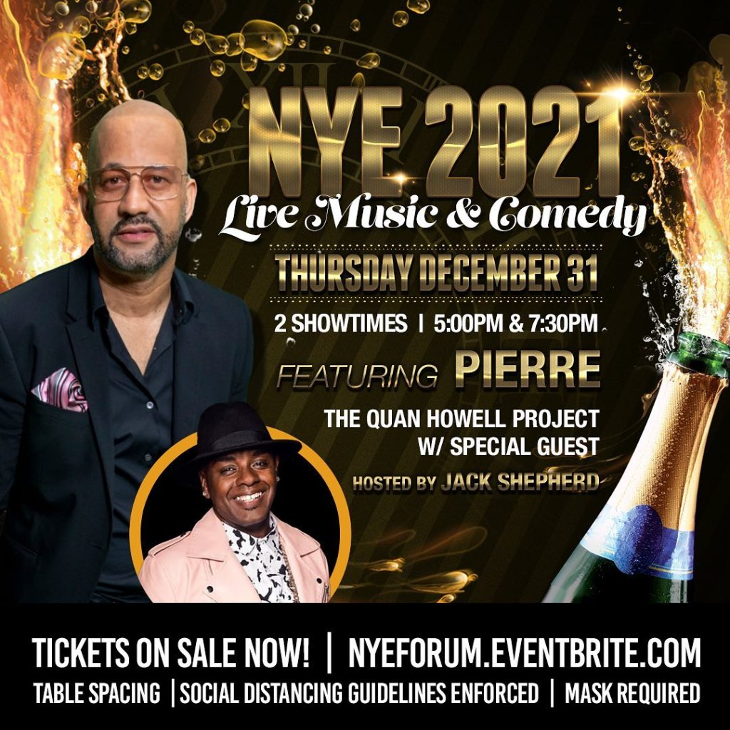 New Years Eve at the Forum