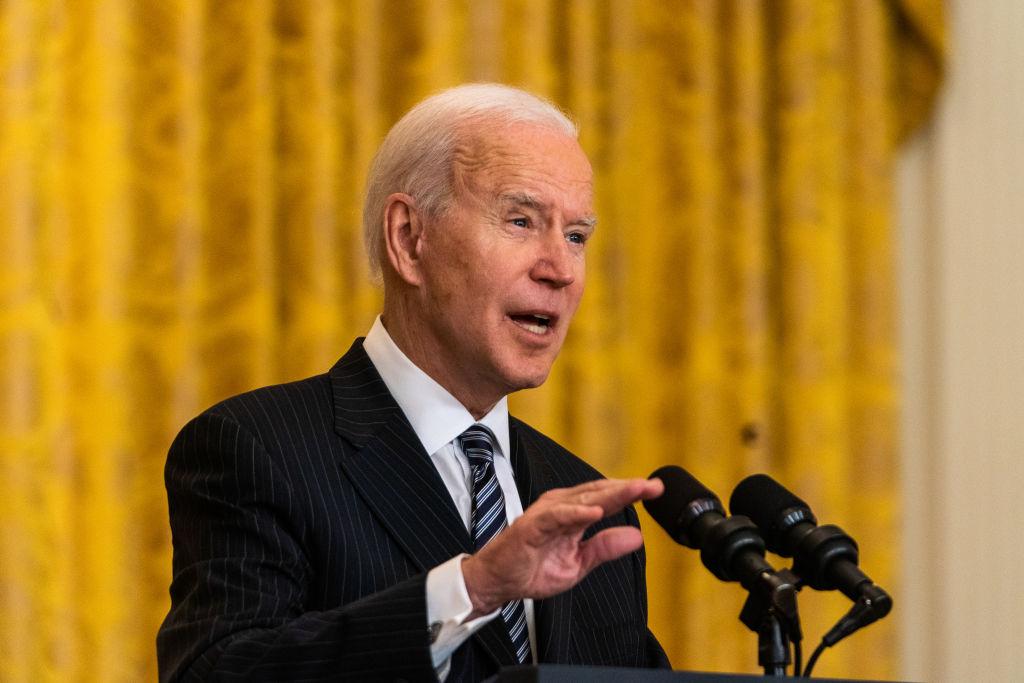 US President Joe Biden state of vaccinations