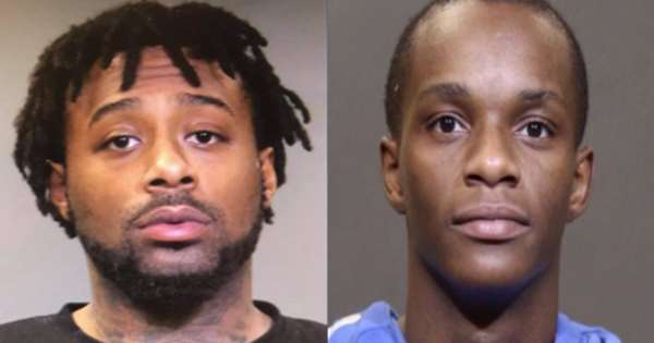 Levon Lewis Sommerville and Anthony Deshawn Truss Jr Mug Shot