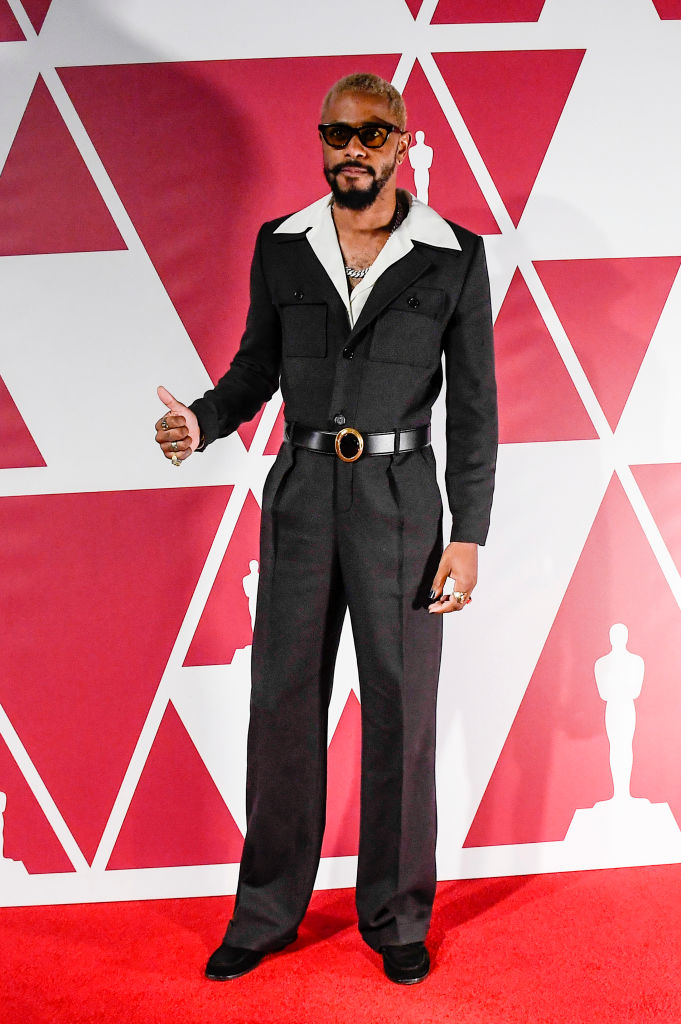 Lakeith Stanfield in Saint Laurent
