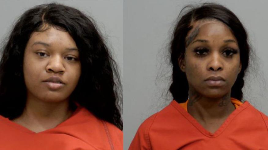Lashaye Genisis Bowles and Tahzarai Lashebra Pitts Mug Shot