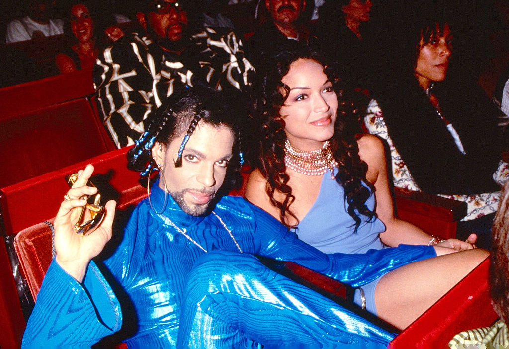 Prince At MTV Video Music Awards
