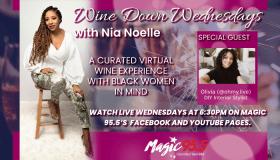 Wine Down Wednesday with Olivia @ohmy.live