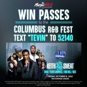 Columbus R&B Fest Contest