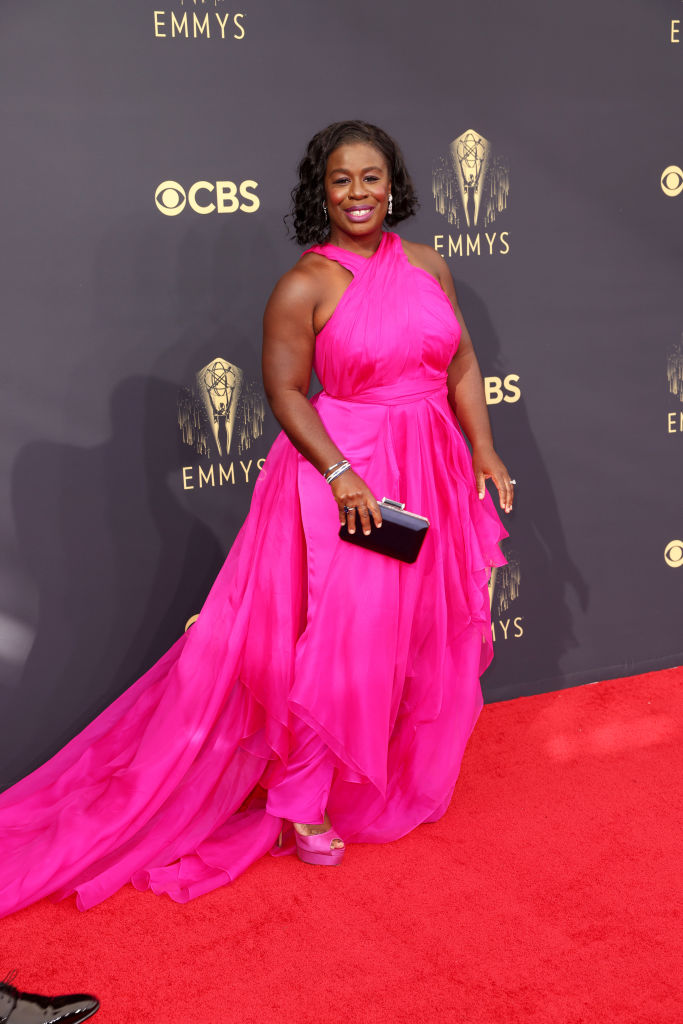 All the Lewks & Hot Mess from the 2021 Emmy Red Carpet: Uzo Aduba