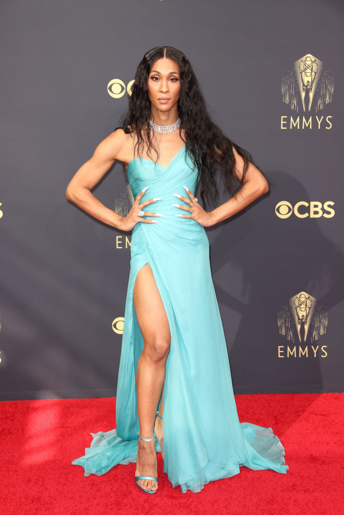 All the Lewks & Hot Mess from the 2021 Emmy Red Carpet: Michaela Jaé Rodriguez