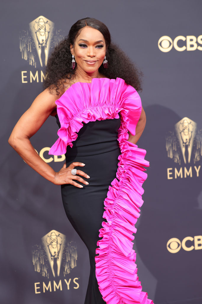 All the Lewks & Hot Mess from the 2021 Emmy Red Carpet: Angela Bassett
