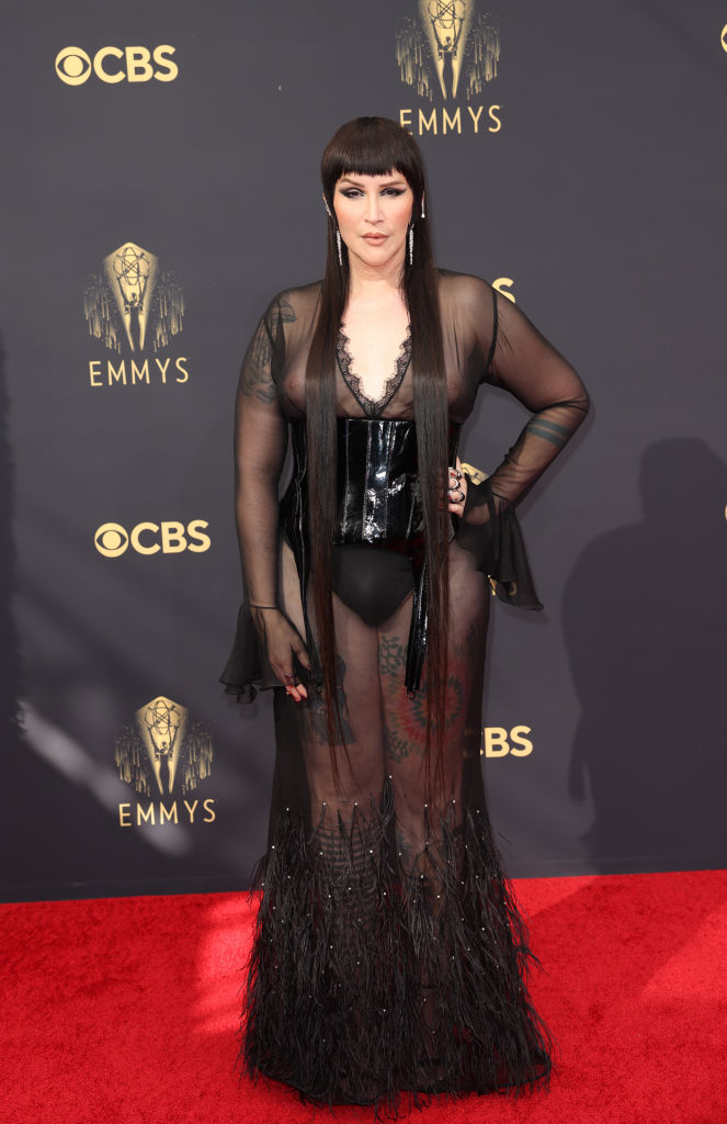 All the Lewks & Hot Mess from the 2021 Emmy Red Carpet: Our Lady J
