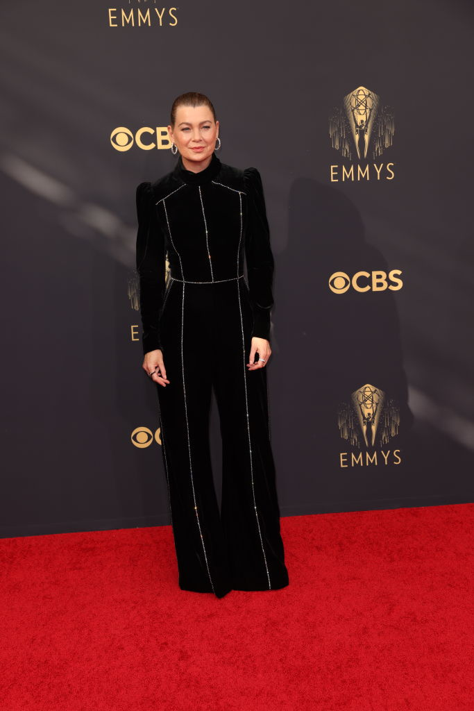 All the Lewks & Hot Mess from the 2021 Emmy Red Carpet: Ellen Pompeo