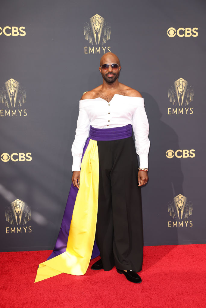 All the Lewks & Hot Mess from the 2021 Emmy Red Carpet: Carl Clemons-Hopkins