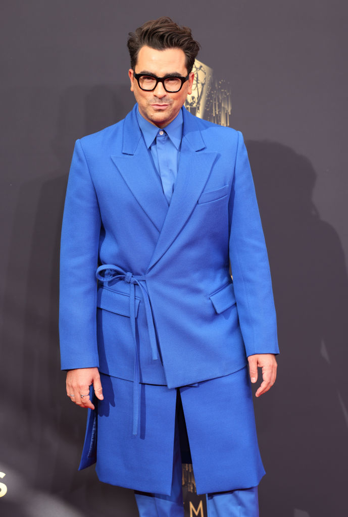 All the Lewks & Hot Mess from the 2021 Emmy Red Carpet: Dan Levy